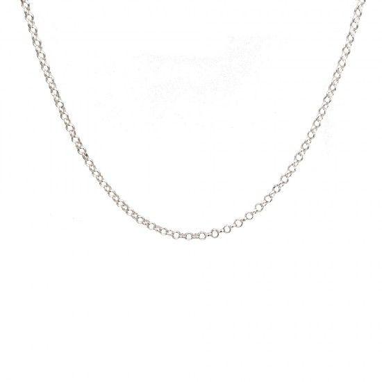 Cadena de plata rolo 45cm